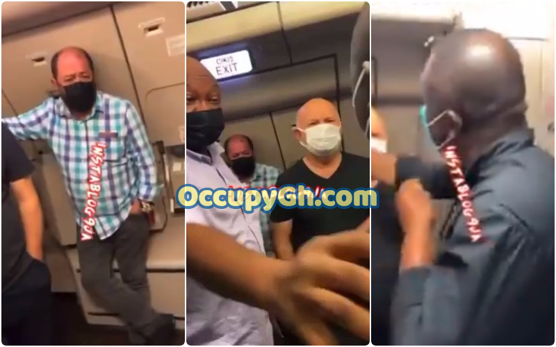 Turkish man Thrown Out Airplane Slapping Nigerian