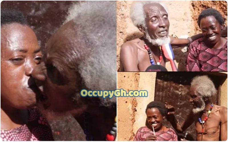 man 100 years old finds love