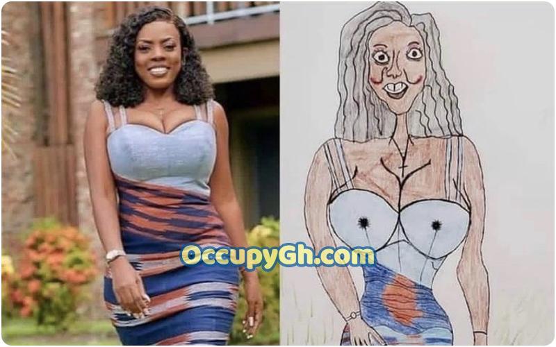 nana aba anamoah drawing