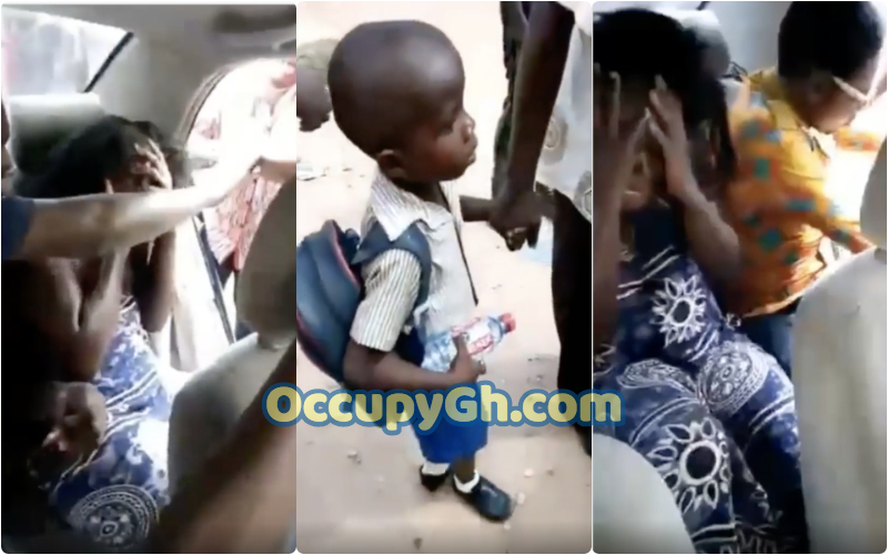 Woman Caught Trying Kidnap Child