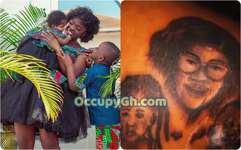 fan tattoo tracey boakye face back