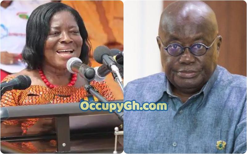 nana akufo addo reacts Ama Benyiwa Doe death