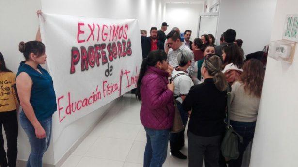 maestros manifestacion