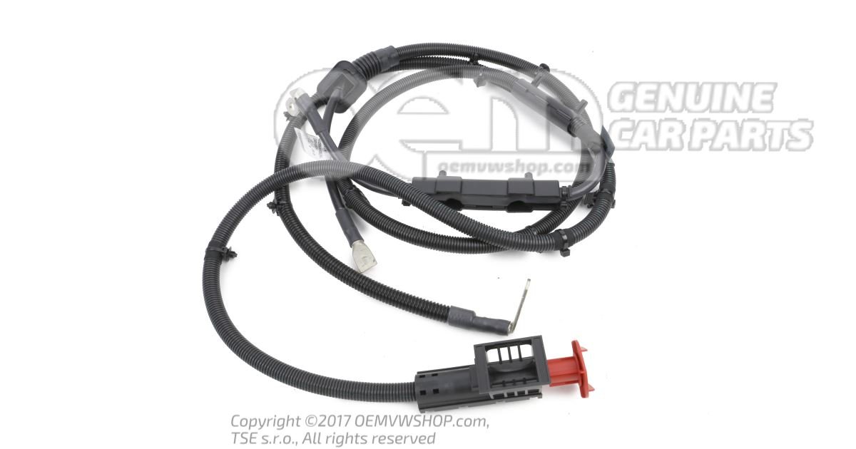Wiring harness for battery + and alternator 2E0911923B