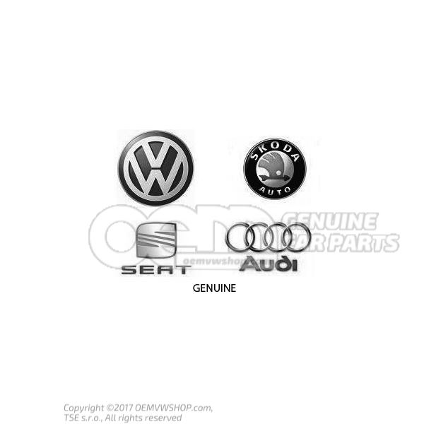 1E0121253C Radiador para refrigerante Volkswagen Golf