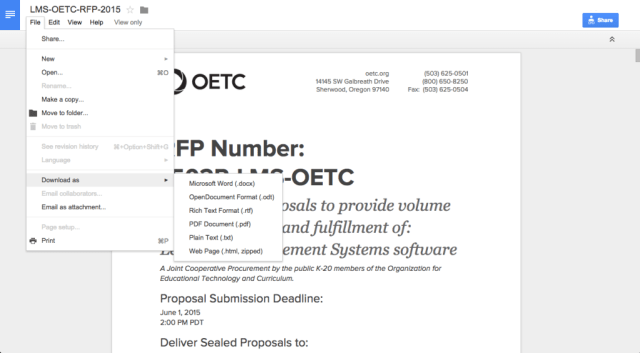 How to Access OETC Files 3