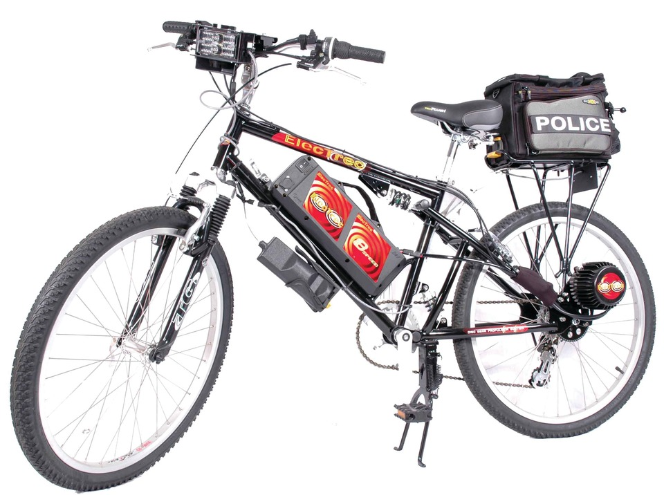 ELECTRIK MOTION Police Edition Bicycle in Bicycles