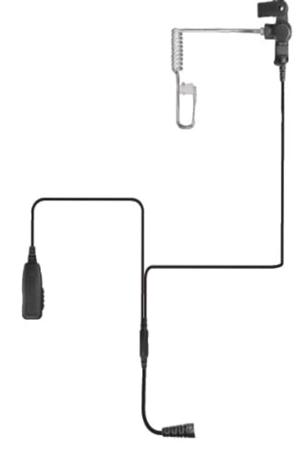 Code Red Headsets Investigator Microphone with Radio Quick