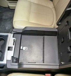 model 322 security console insert for 2011 2016 ford super duty truck [ 1280 x 1920 Pixel ]