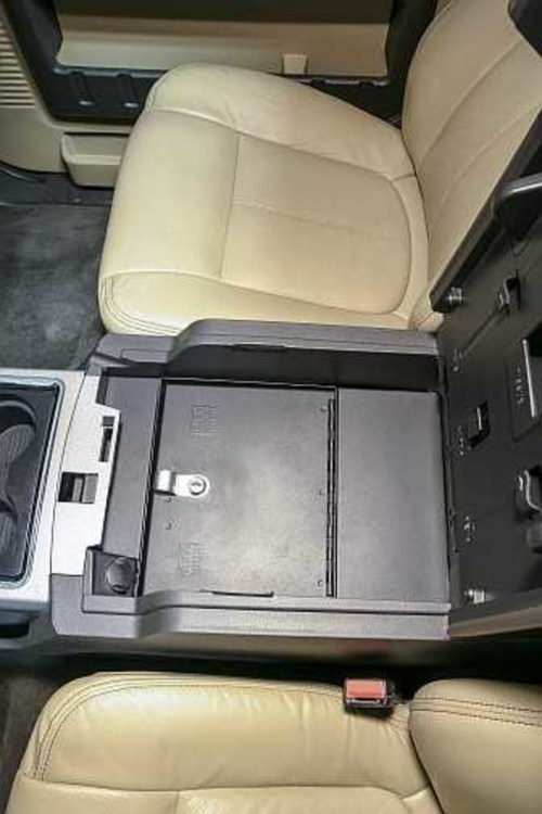 small resolution of model 322 security console insert for 2011 2016 ford super duty truck
