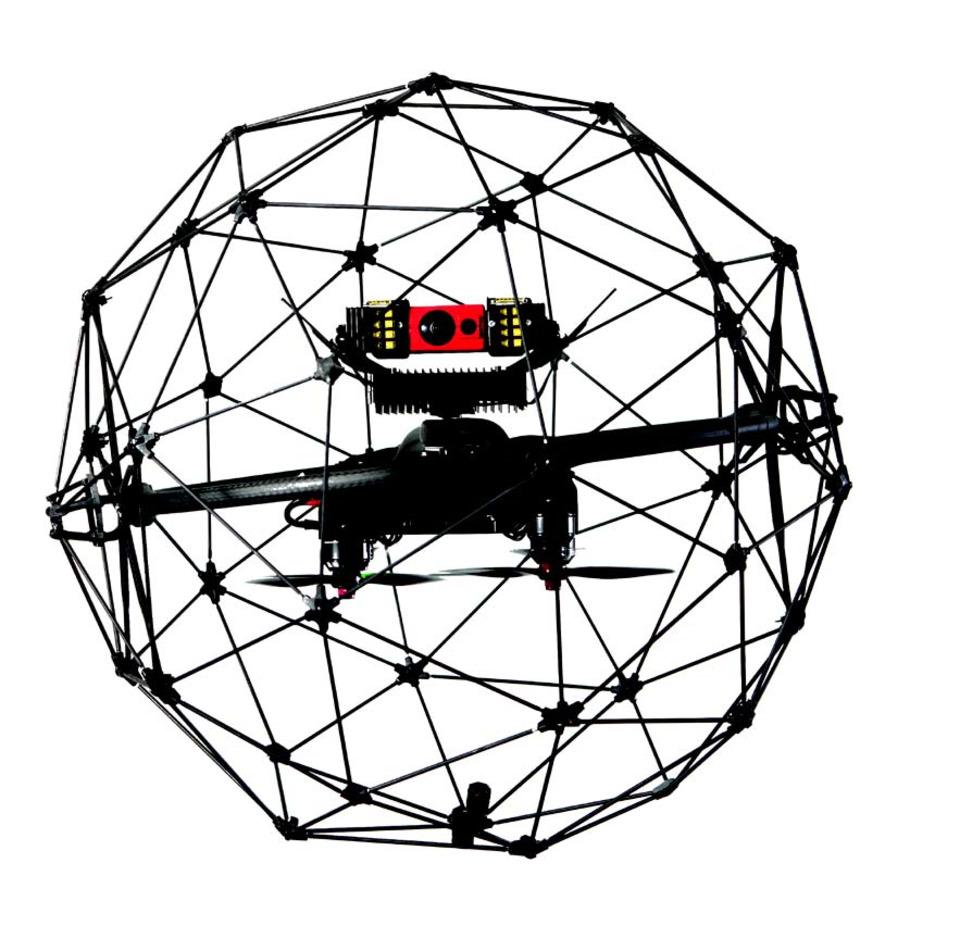 Flyability SA Elios Indoor Reconnaissance Drone in UAV / UAS