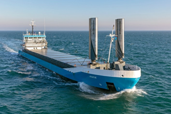 Wind propulsion gaining ground in the transition to zero-emissions ships -  Offshore Energy