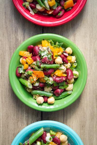 Speedy Three-Bean Salad — Oh She Glows