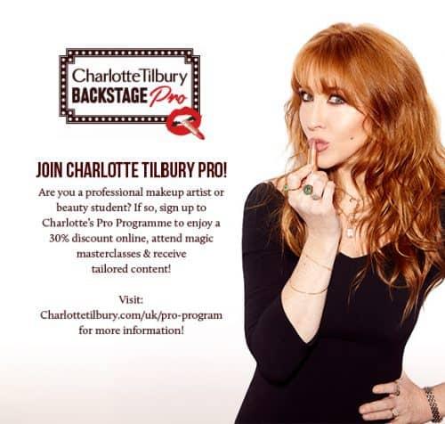 Charlotte Tilbury Pro Artist Program