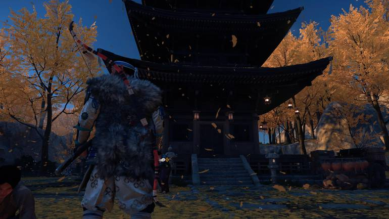 Temple of Ghost of Tsushima.