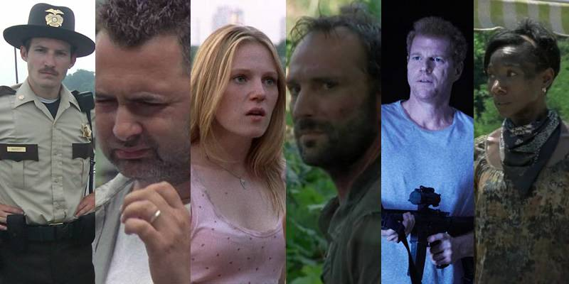 The Walking Dead   TODAS as mortes da série