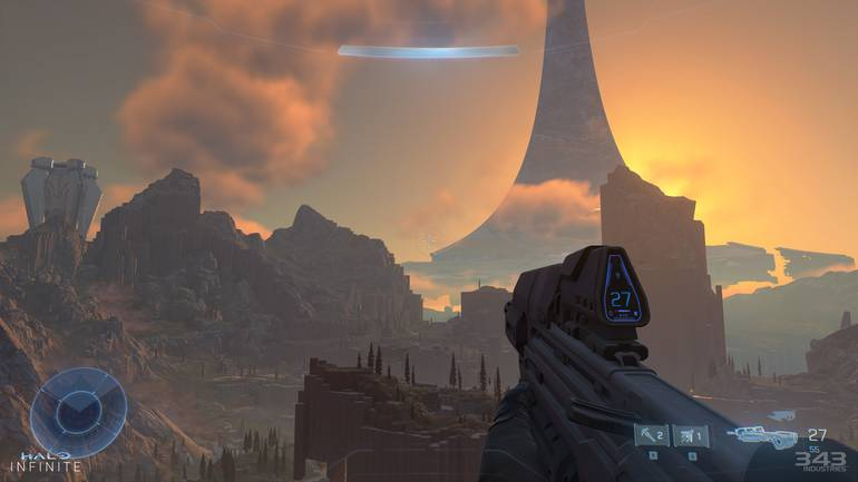 Halo Infinite Map.