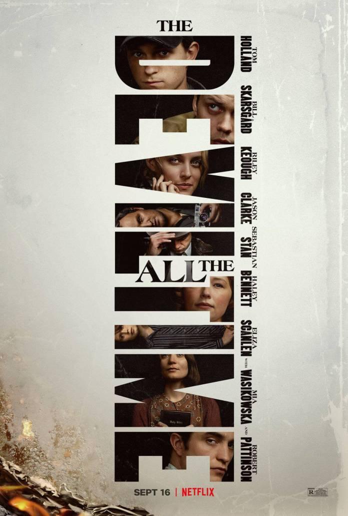 O Diabo de Cada Dia, filme de Tom Holland e Robert Pattinson na Netflix, ganha cartaz