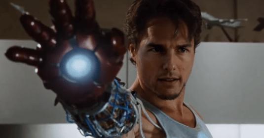 Vídeo imagina o MCU com Tom Cruise no papel do Homem de Ferro; veja
