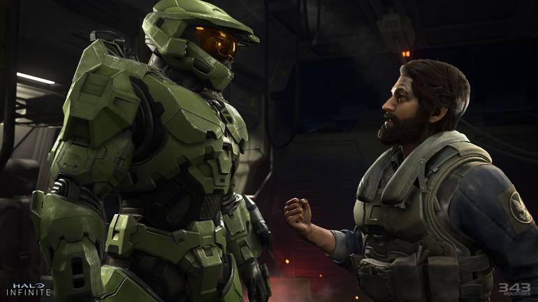 Pilot in Halo Infinite.