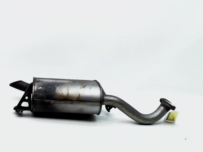 exhaust rear silencer toyota corolla