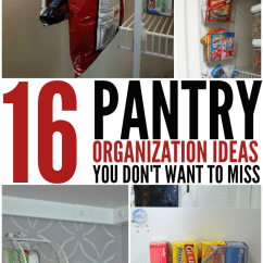 Kitchen Pantry Organization Ideas Modern Table Lighting 16 That Your Will Love You Don T Want To Miss