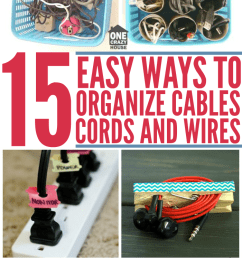 15 easy ways to organize cables and wires [ 700 x 1400 Pixel ]