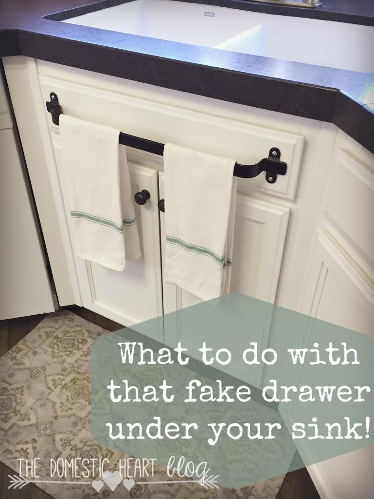 ikea kitchen cabinet handles outdoor modular 17 genius towel bar organization hacks