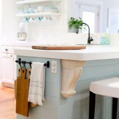 Kitchen Towel Bar Backslash 17 Genius Organization Hacks 5