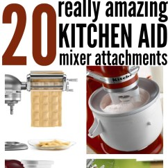 Kitchen Aid Attachments Shelf Unit 20 Amazing Mixer Www Onecrazyhouse Com