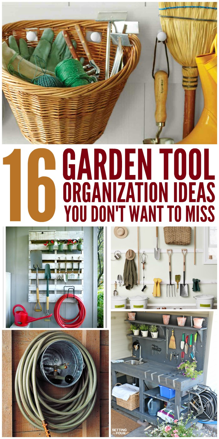 16 Garden Tool Organization Ideas You Don't Want to Miss