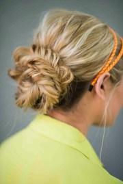 easy bun hairstyles rock