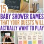 15 Hilariously Fun Baby Shower Games