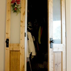 Craftsman Style Kitchen Cabinet Doors China Dishes 18 Closet Door Makeovers That'll Give You Envy