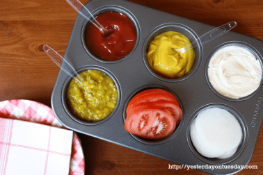 condiment serving idea