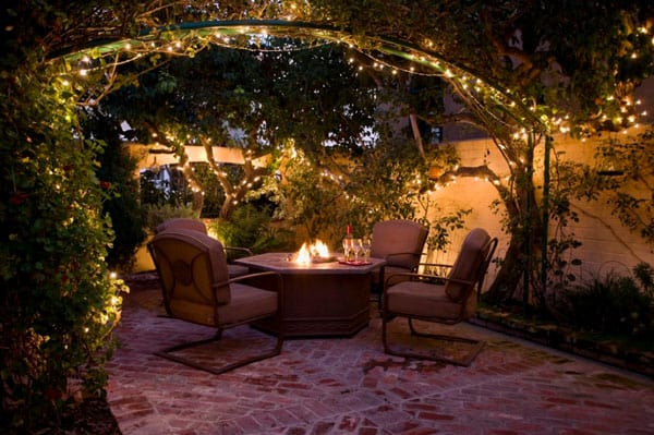 52 spectacular outdoor string lights to