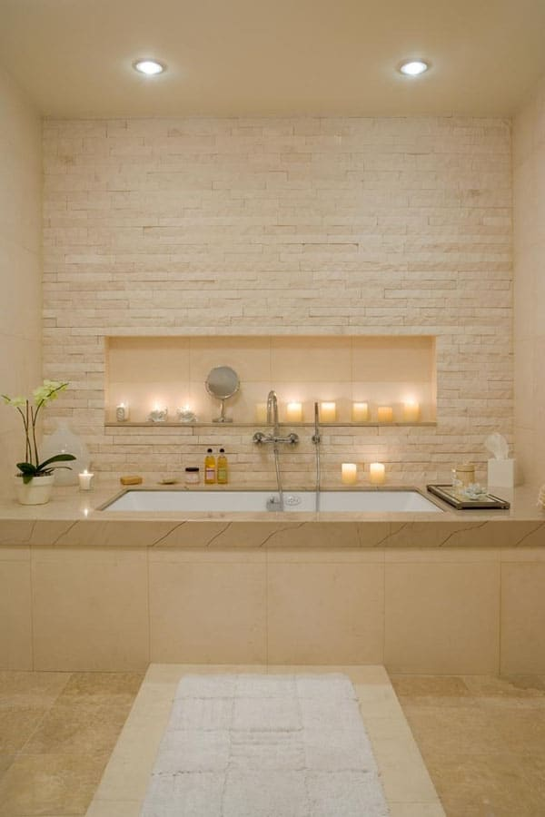 Stone Wall Bathroom-56-1 Kindesign