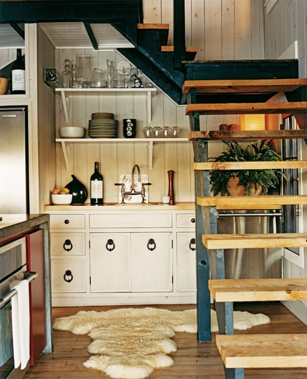 55 Amazing Space Saving Kitchens Under The Stairs   Creative Stairs For Small Spaces   Low Cost Simple   Beautiful   Tiny House   Modern   Unique