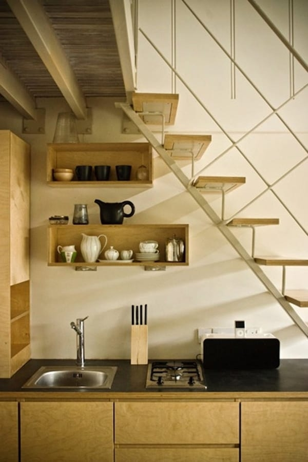 55 Amazing Space Saving Kitchens Under The Stairs | Kitchen Under Stairs Design | Cupboard | Living Room | Wet Bar | Basement Renovations | Staircase Storage
