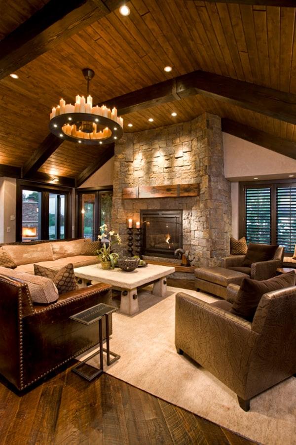 55 Awe Inspiring Rustic Living Room Design Ideas