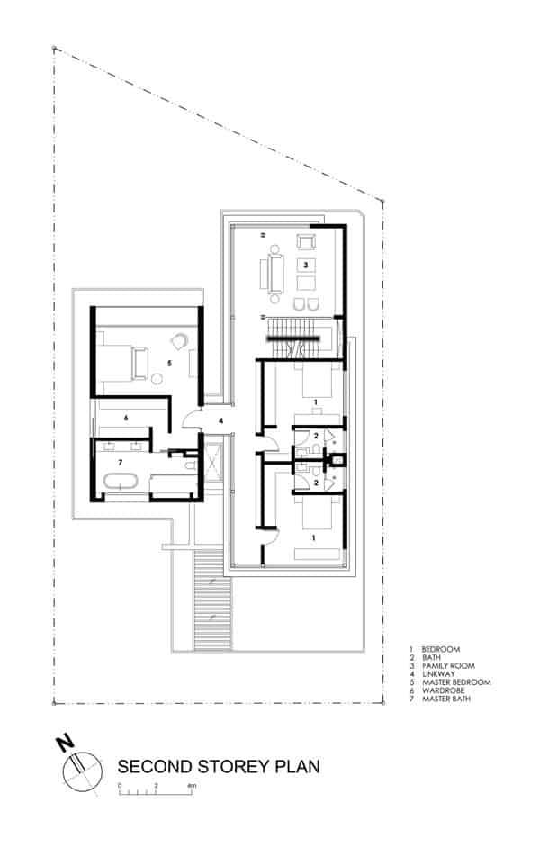 Modern Travertine Dream House in Singapore