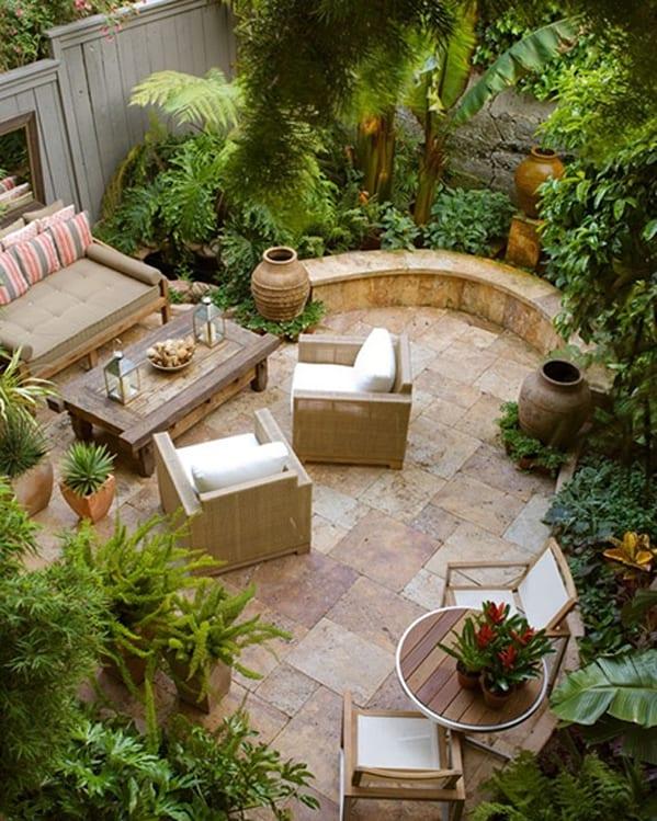 sensational interior courtyard