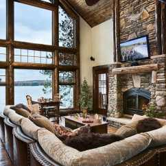 Rustic Cabin Living Room Decorating Ideas Bohemian Style 47 Extremely Cozy And Rooms