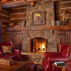 Log Cabin Living Room Decorating Ideas Curtain For 2017 2 47 Extremely Cozy And Rustic Style Rooms 03 1 Kindesign
