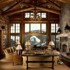 Cabin Living Room Decorating Ideas Modern Ceiling Design For Small 47 Extremely Cozy And Rustic Style Rooms 40 1 Kindesign