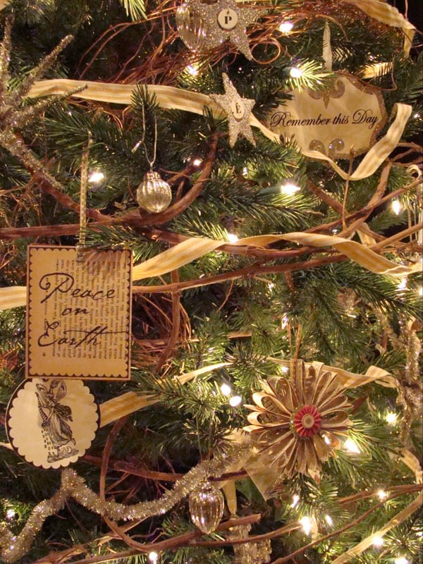 Image Of Rustic Christmas Bell Ornaments