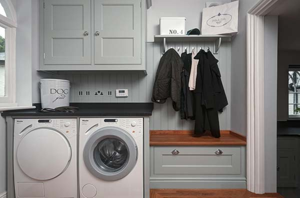 Small Laundry Room Design Ideas-07-1 Kindesign