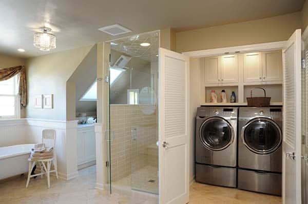 Small Laundry Room Design Ideas-14-1 Kindesign