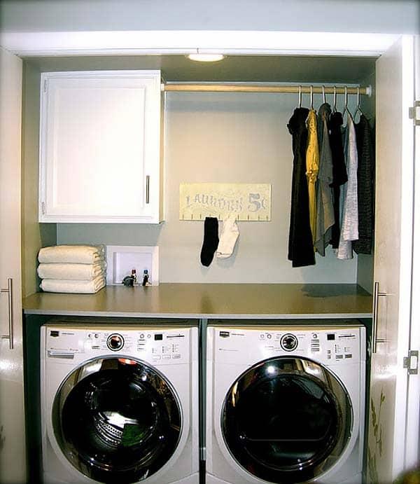 Small Laundry Room Design Ideas-15-1 Kindesign