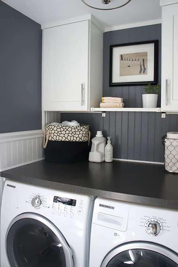 Small Laundry Room Design Ideas-16-1 Kindesign